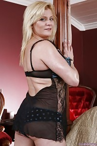 Bianca H Slips From Blue Wear And Garters